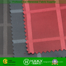 Plaids Jacquard Spandex Fabric with Poly for Jacket