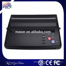 Profissional máquina de fax portátil tatuagem, máquina de copiadora térmica tatuagem USB de alta qualidade