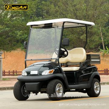 2 местный Гольф Багги клуб автомобиль Электрический Гольф-кары с задним грузом