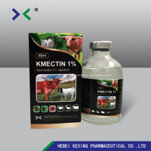 Animal Ivermectin 1% inyección
