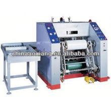 Máquina que raja que rebobina de la hoja caliente automática del estampado