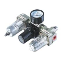 Lubricador regulador de filtro neumático Ningbo AC Combinación filtro de aire serie AC