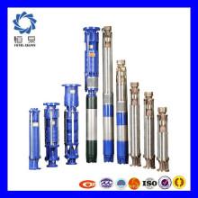 2 pouces, 3 pouces, pompe de puits de profondeur 4 pouces / pompe à turbine verticale submersible pour l'utilisation du jardin et l'irrigation
