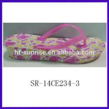 SR-14CE234-3 2014New Design woman eva slipper high quality comfortable women eva slipper summer cheap wholesale slippers