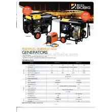 Italia sistema de generador refrigerado por aire de la tecnología 5.0 6.5 trifásico o monofásico