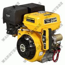 Motor a gasolina de 4 tempos com um único cilindro, recolhimento e acionador de partida elétrico