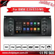 Hla 8786 Système de voiture DVD GPS 5.1 voiture pour BMW 5 E39 M5 3G Connexion Internet ou WiFi