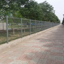 Factory price Triangle Bending Wire Mesh Fence Factory