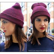 Weiblicher Beanie Hat Fitted (XT-B044)