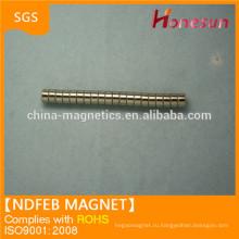 Горячие Продажа цилиндра N42 неодимовый магнит D5x3mm