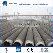 Tuyau en teflon en acier doublé en ciment ASTM A179 de haute qualité