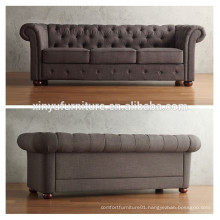 Modern design 3 seater fabric sofa with button XYN1741