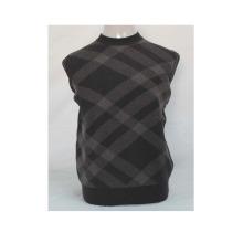 Kaschmir / Yak Wolle Rundhals Pullover Langarm Pullover / Garment / Kleidung / Strickwaren