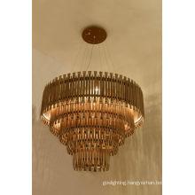 Modern Hotel Project Aluminium Pendant Lamps (1162S3)