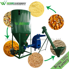 China weiwei animal feed mixer crusher