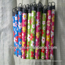 pvc cover wooden broom handle