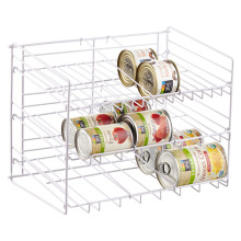 Soportes de dispensador de bidones de bebidas de contador personalizados 3 organizador de estantes de bandejas