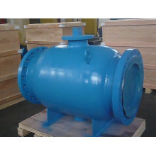 Manufacturer Fully Welded Ball Valve with Flanged End