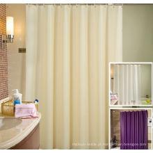 Cortina de chuveiro 100% do hotel do poliéster (DPH7100)