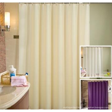 Rideau de douche d'hôtel de 100% polyester (DPH7100)