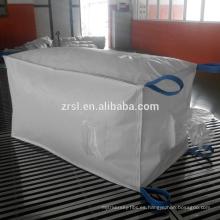 Bolso enorme del cemento del bolso del fibc 1000kg / bolso del U-panel / bolso plástico del cemento, bolsos grandes del precio del factry de ZR