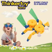 Bâtiment éducatif en plastique pour 3-6 Jouet éducatif pour enfants