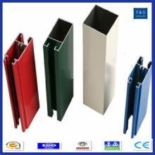 6061 perfil industrial de extrusão de alumínio 6060