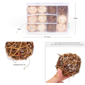 Puppy Weave Rattan Interactive Ball Toys