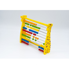 Abacus for colored beads