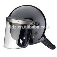 Anti riot helmet standard style with L shape visor
