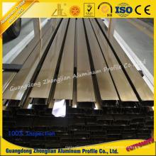 Eletroforese de alumínio do perfil da extrusão do OEM da fábrica de alumínio