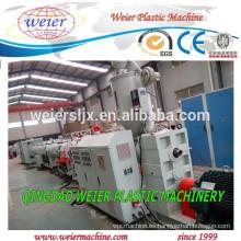 máquina extrusora de plástico para la fabricación de tuberías de PE PVC PPR