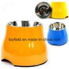 Haustier-Produkt-Versorgungs-Zufuhr-Melamin-keramischer Hundeschüssel