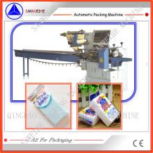 Swsf-450 Hochgeschwindigkeits-Schwamm-Schaum-automatische Kissen-Beutel-Verpackungs-Verpackungsmaschine
