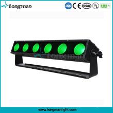 Waterpeoof 6PCS 25W Rgbaw 5in1 LED-Pixel-Blinder-Licht