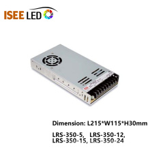 Fonte de alimentação de comutação de tensão constante LED