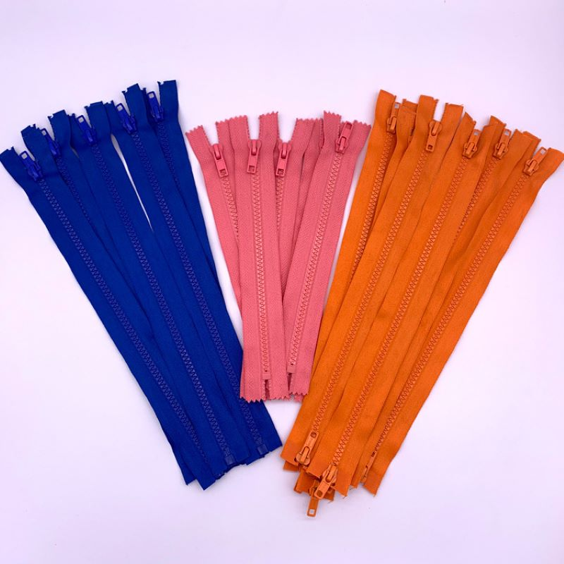 Various colour polyester zipper