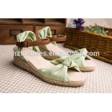Japonês doce confortável pouca cor pura e fresca e doces para calçados femininos cunha sandálias de plataforma à prova d'água