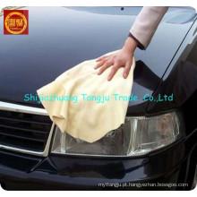 toalha do assento de carro do microfiber, toalha de secagem da limpeza do carro do deerskin