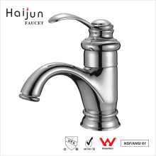 Haijun Itens Populares Banheiro Artístico Torneiras Misturadas De Bacia De Latão Montadas