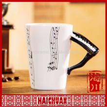 piano ceramic salt and shaker