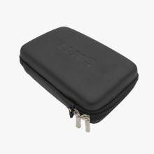 Banco de potência HDD impermeável para viagem, com estojo rígido