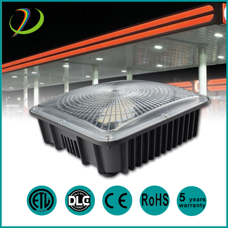 DLC IP65 LED Canopy Light 75W