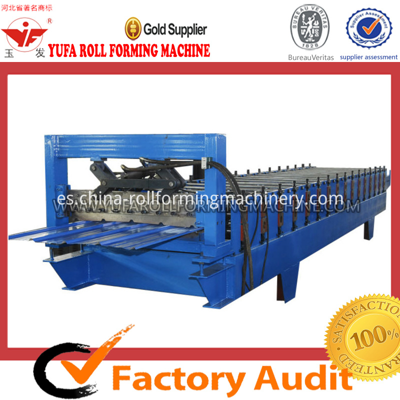 wall tile metal sheet forming machine
