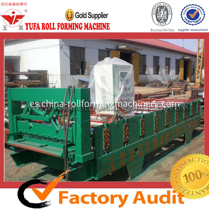 color steel metal sheet roof tile roll forming machine