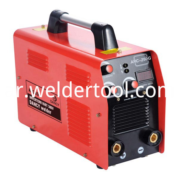 Three phase welding machine for industrial use