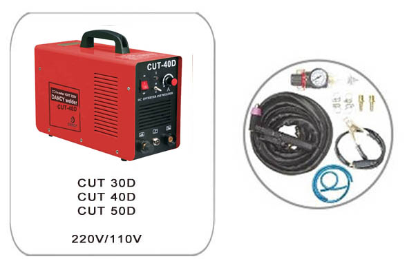 Dual voltage plasma cutter