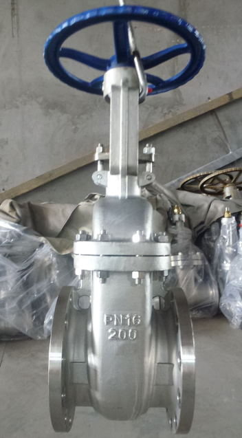 DIN Flanged Gate Valve with Stainless Steel