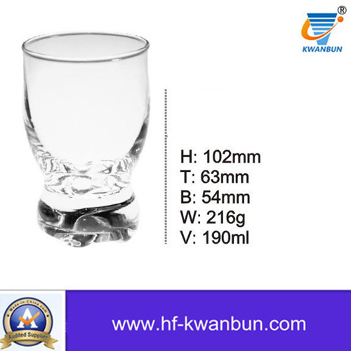 Clear Glass Cups Beer Cup Whisky Cup Kb-Hn0298