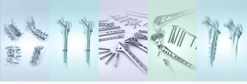 Femoral Interlocking Nails Trauma Bone Implant